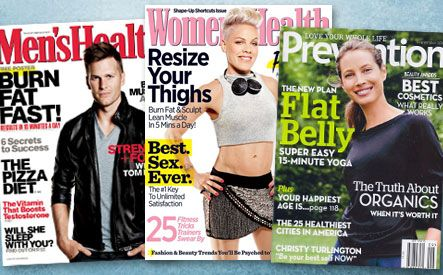 Get a 1 or 2 Year Canadian Subscription to Women's Health, Prevention, or Men's Health for as low as $15 on WagJag! Hurry deal ends soon!