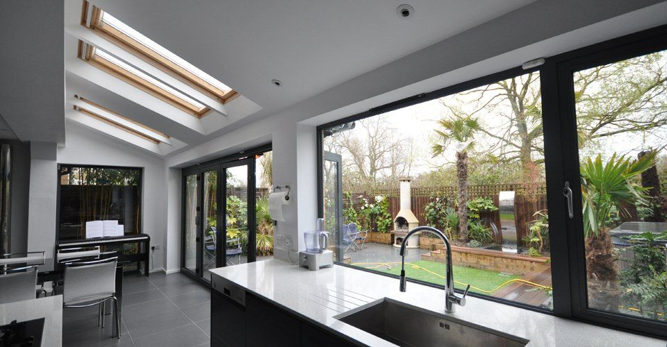 Simple Kitchen Extension edge architects - a space for entertaining http://edgearchitects
