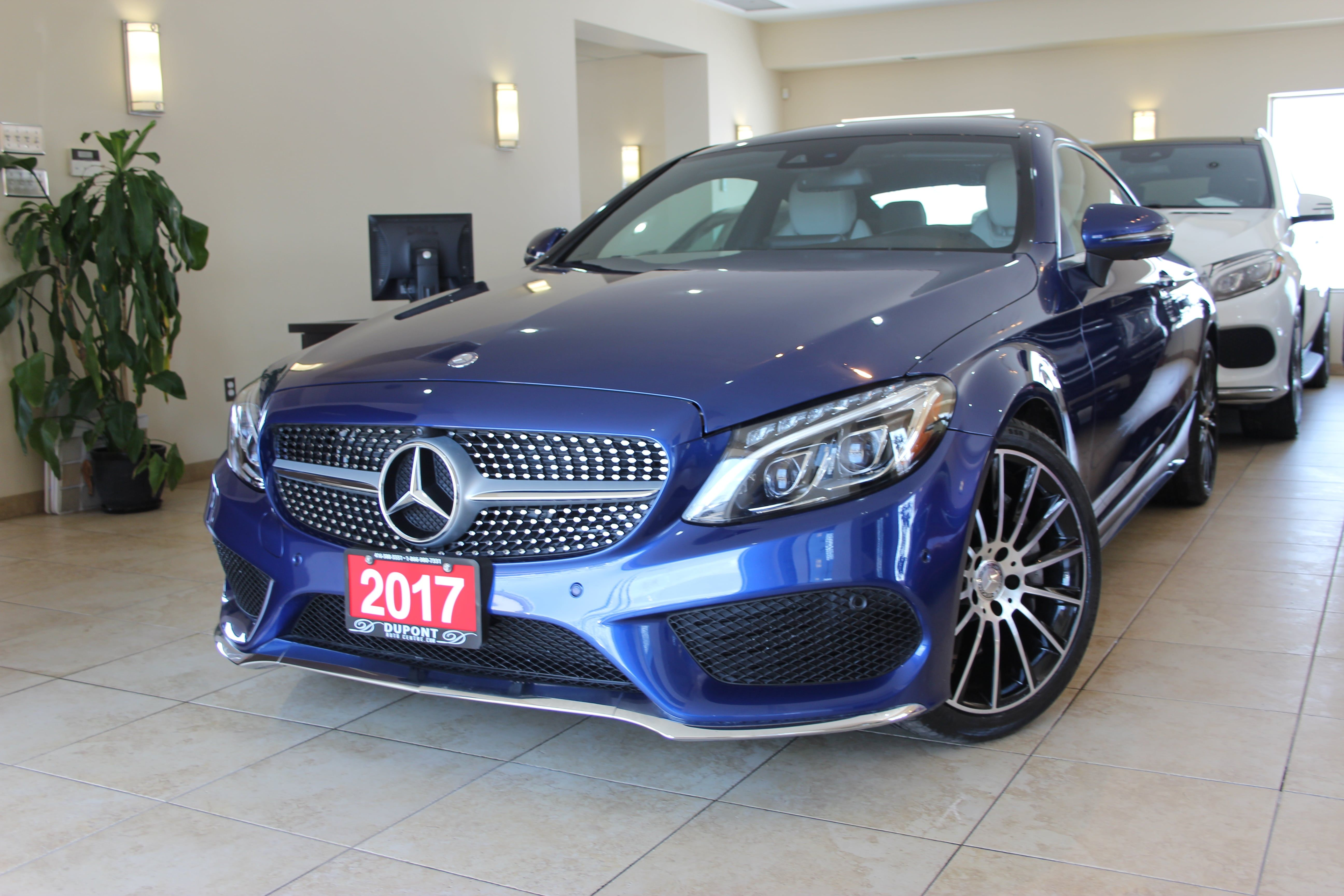 Certified 2017 Mercedes Benz C300 4matic Coupe Amg For Sale In