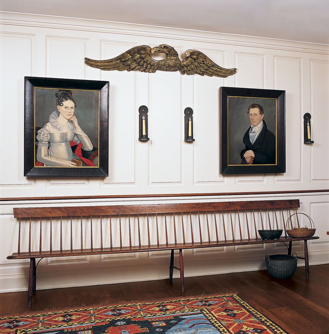 Colonial Home Decorating Ideas: Colonial, Colonial Furniture, Art