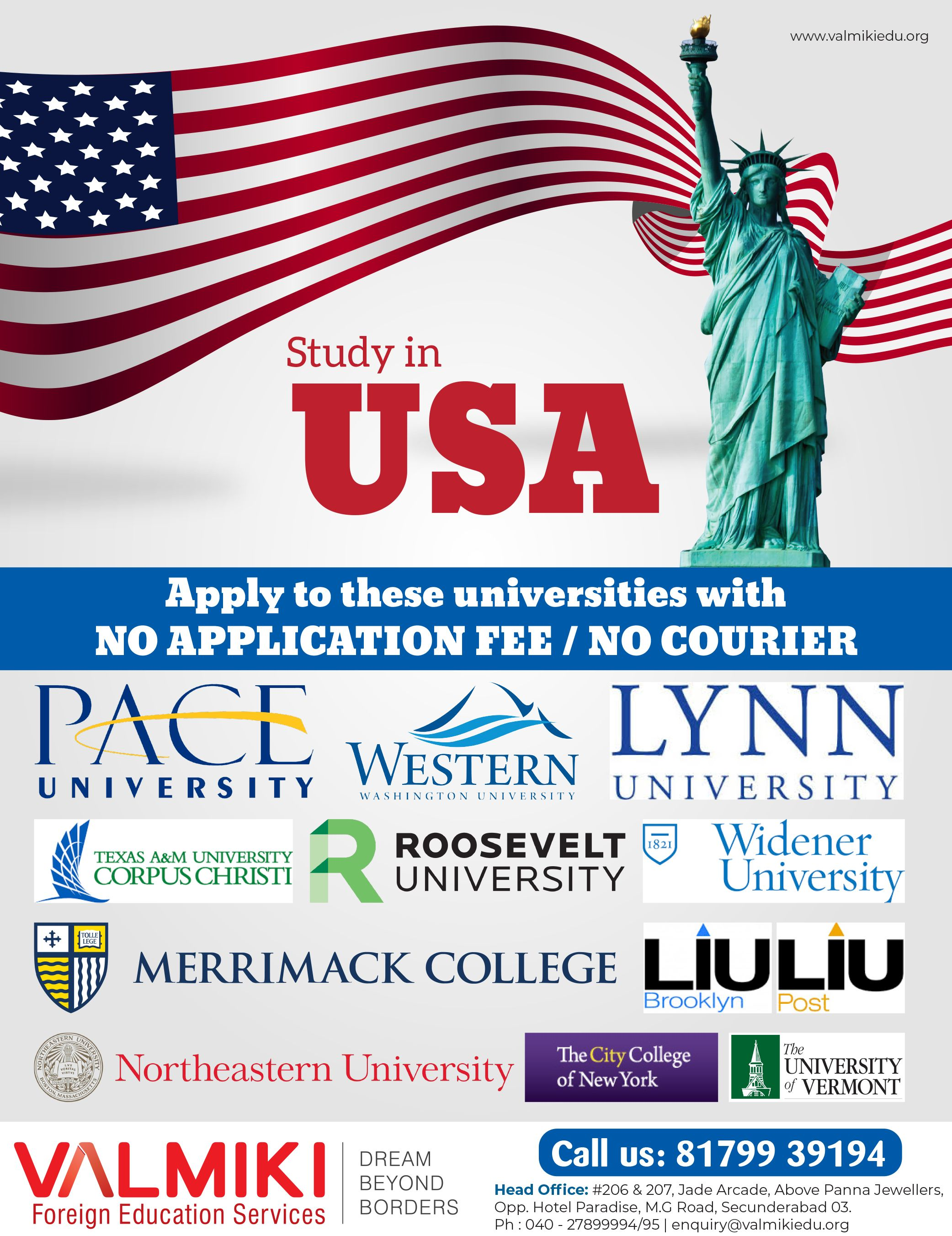 Study In Usa Top Universities Apply To Top Universities With No Application Fee No Courier Enrol Educational Consultant Overseas Education Lynn University