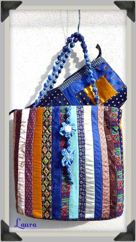 borsa e pochette riciclo cravatte bags purse company