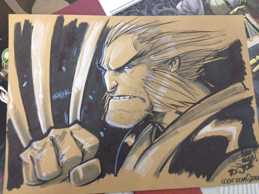 Wolverine by biroons.deviantart.com on @deviantART