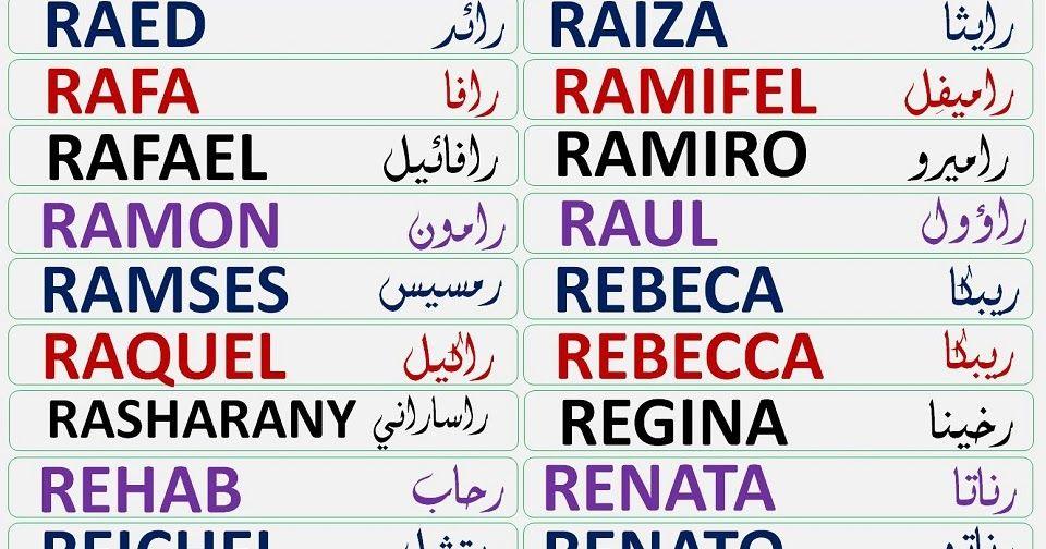 Ahora Toca La Letra R El Blog De Tu Nombre En árabe Publica Una Lista Con Casi Todos Los Nombres Que Empie Letras Para Tatuajes Tatuajes Letra R Letras Arabes