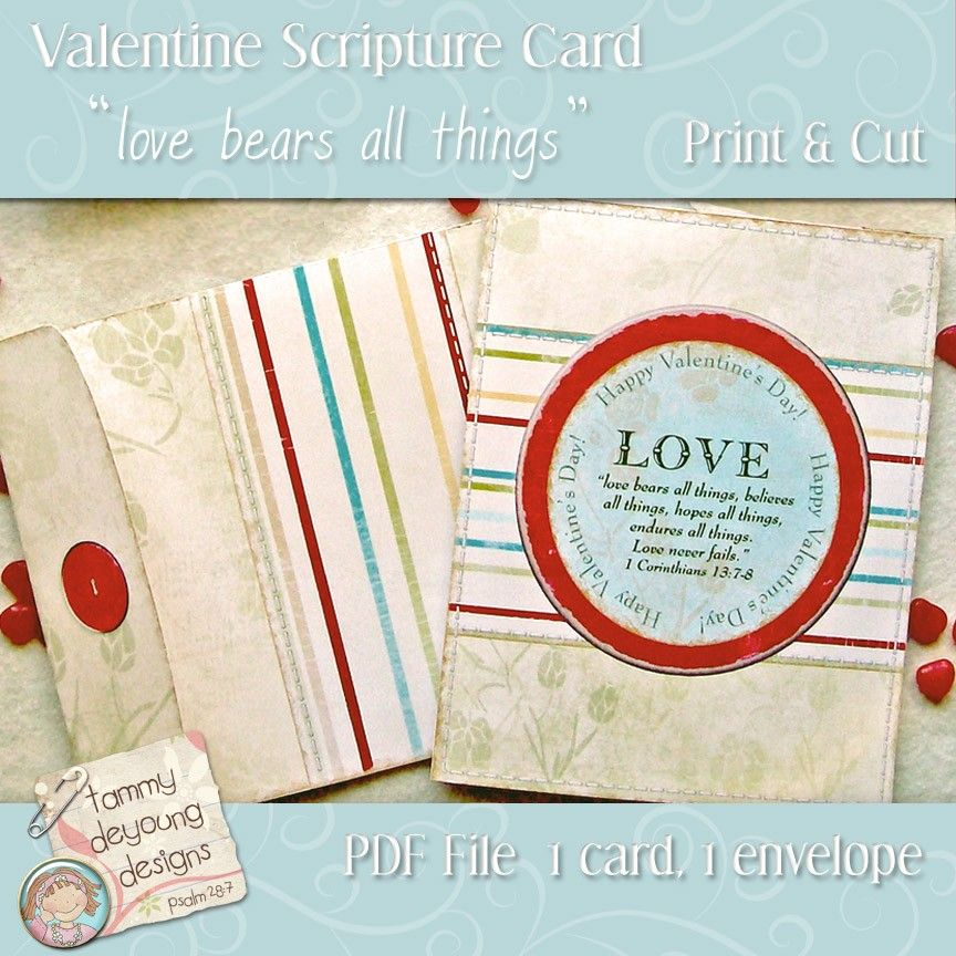 religious valentine card printable with bible scripture for men religious valentine