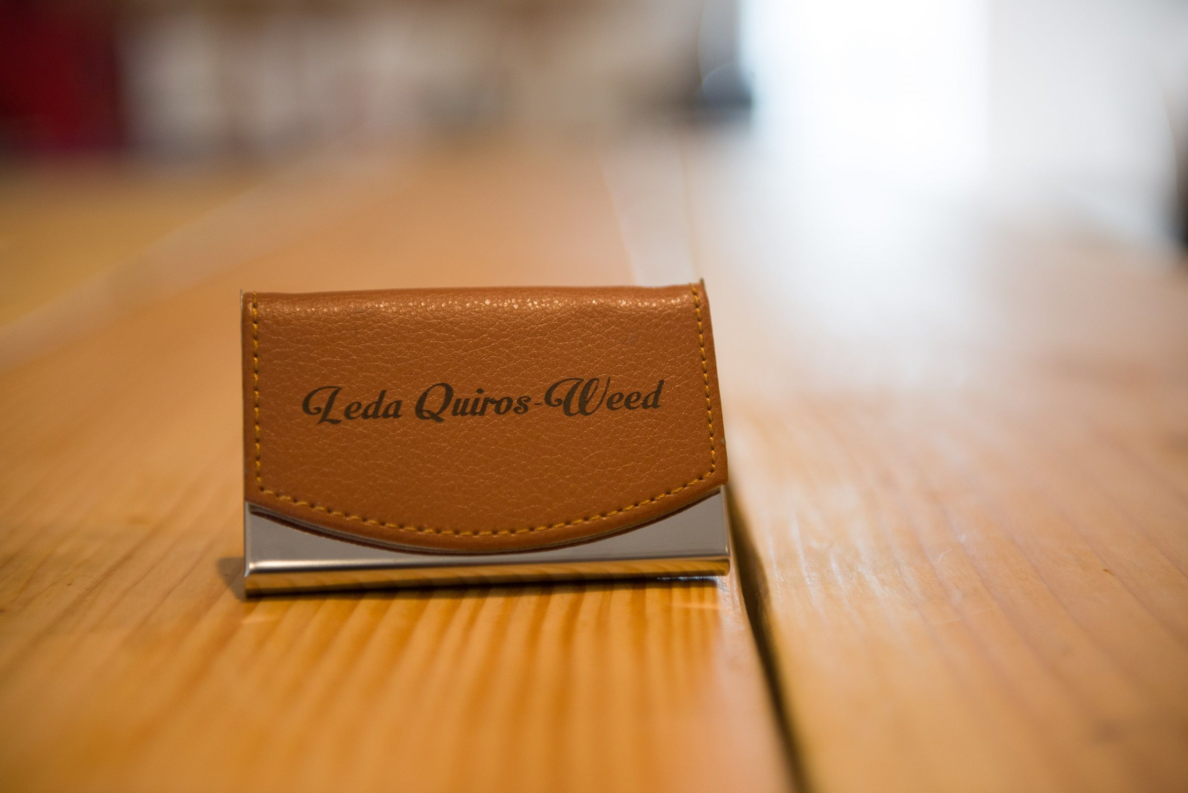 An Engraved #Business Card Holder #laserengrave #lasers #accessories ...