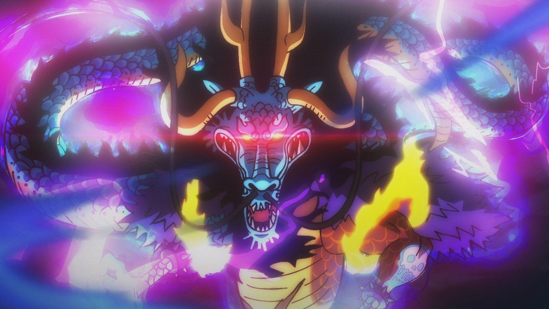 Kaido Wano Kuni Arc Kaido One Piece One Piece World One Piece Pictures