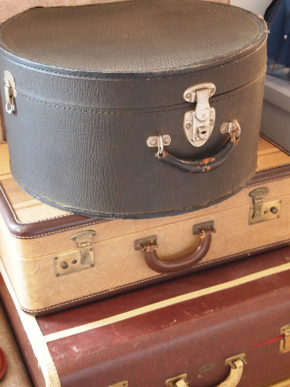 Vintage Black Hat Box/Luggage/Storage Box. $29.95 via Etsy. & Vintage Black Hat Box/Luggage/Storage Box. $29.95 via Etsy. | Hats ...