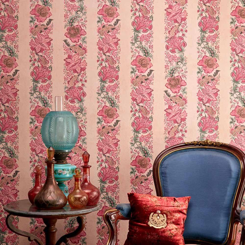 The Travancore Chintz Interior Wall Paint Home Wallpaper Modern Wallpaper Designs