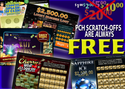 PCH Scratch offs | My PCH Favorite's in 2019 | Publisher clearing