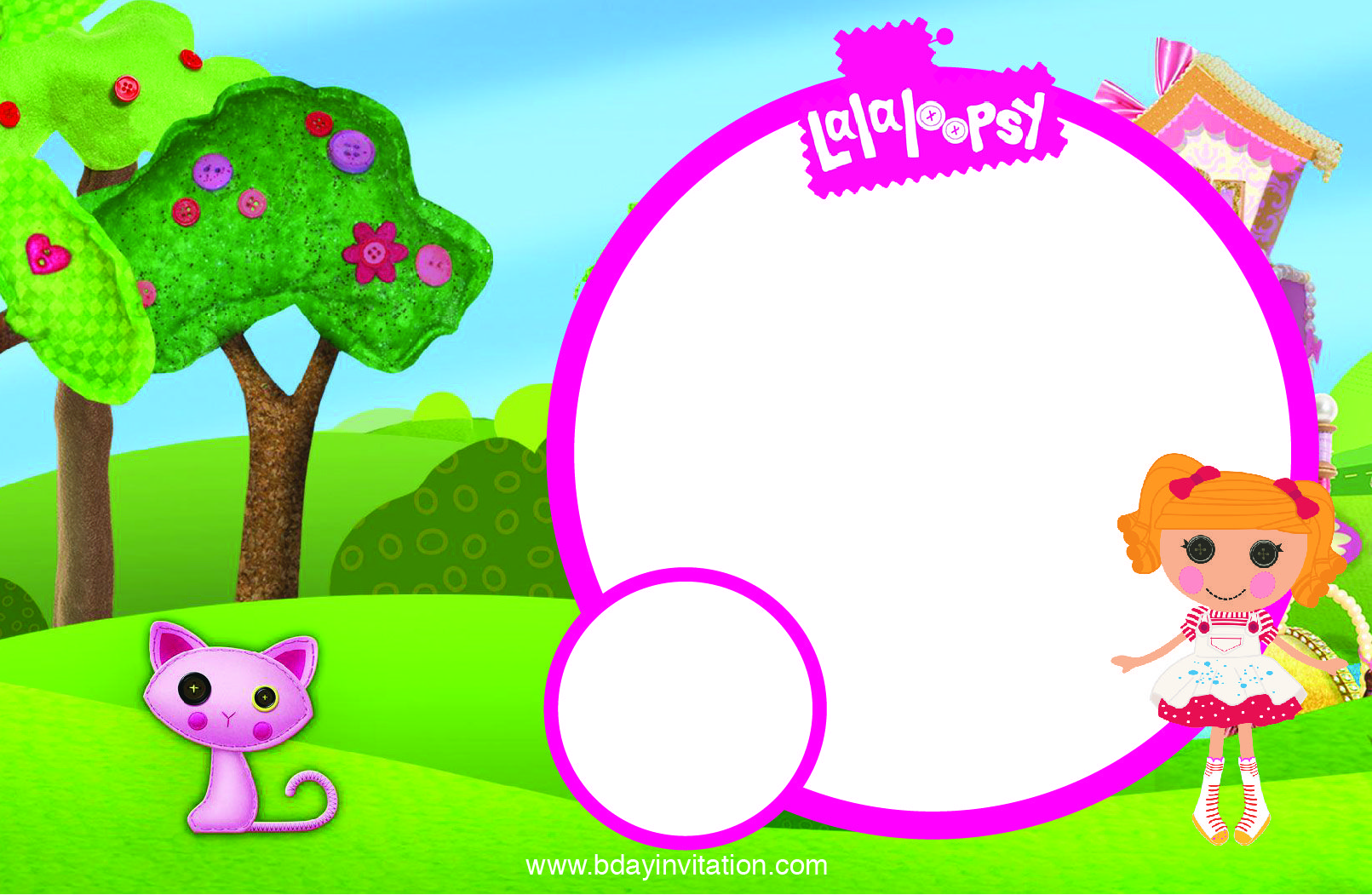 Free FREE Printable Lalaloopsy Birthday Invitation Template | FREE ...