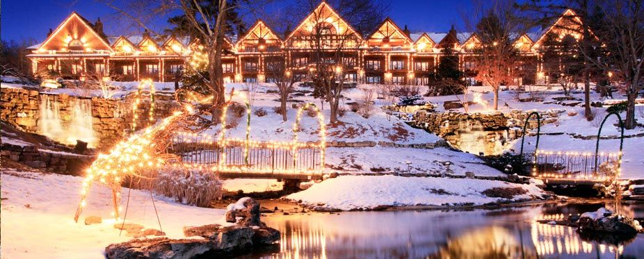 Big Cedar Lodge MinitimeDreamHoliday Christmas Lights
