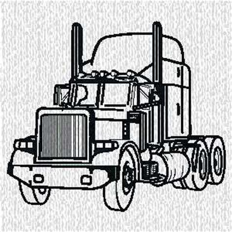 243a6ddb56646 Image result for Semi Truck Outline Drawing Side Profile | stencil ...