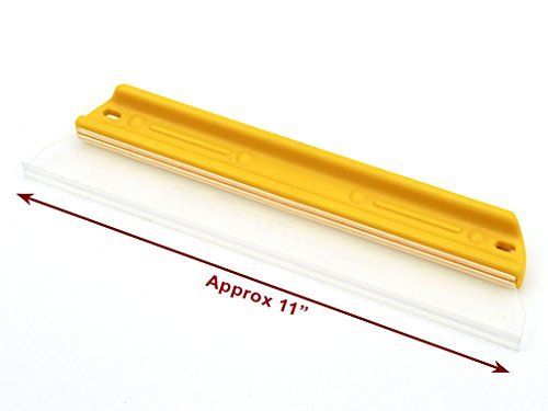 Original Soft-N-Dry T-Bar Silicone Water Blade Squeegee
