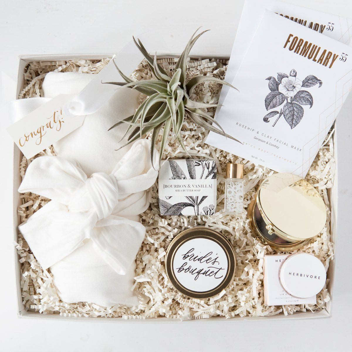 Wedding Gift For Those Who Have Everything: Luxe Bride-to-Be Gift Box