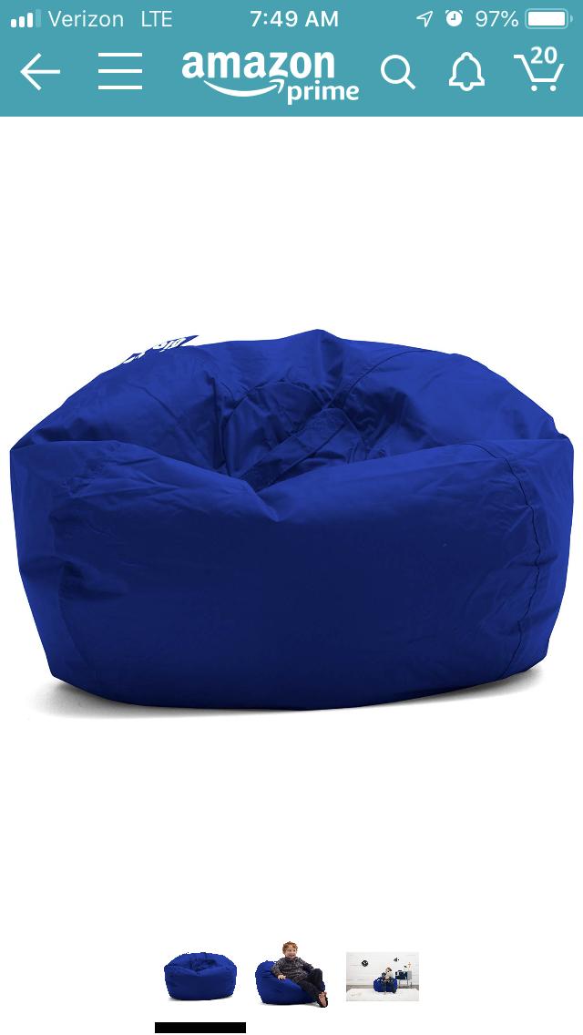 Incredible Big Joe Blue Bean Bag Chair Shared Bedroom Ideas In 2019 Creativecarmelina Interior Chair Design Creativecarmelinacom