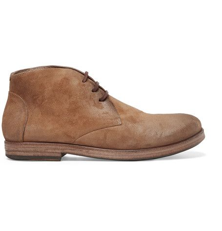 Washed-suede Boots Mars fbLYEPPJ