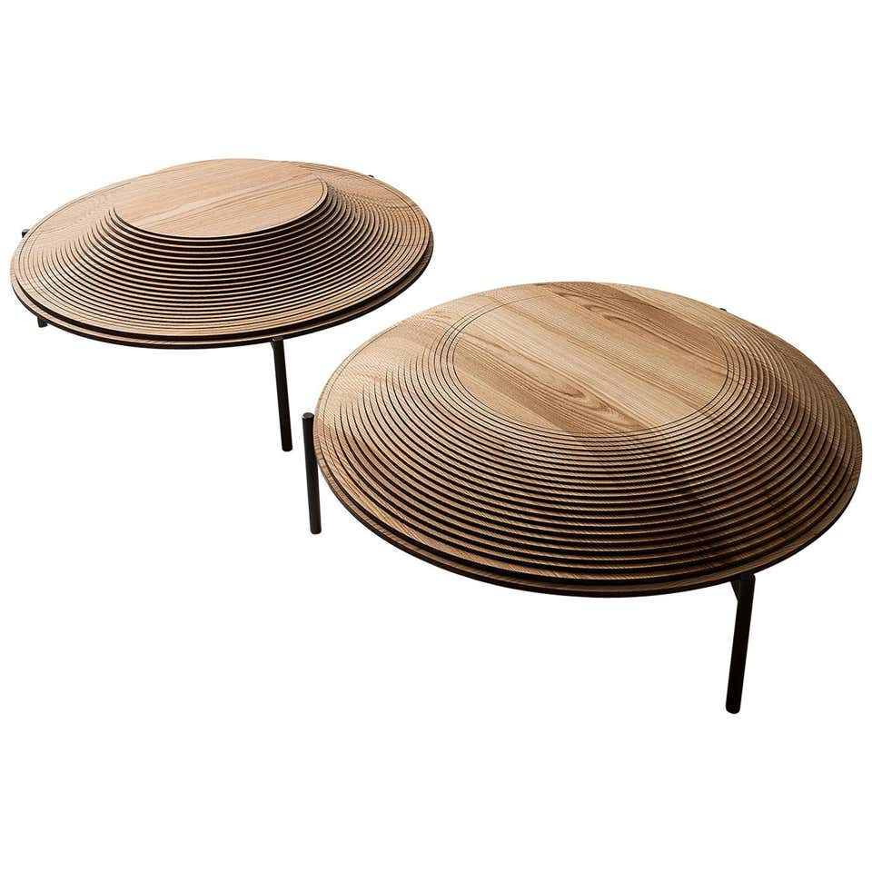 Modern Sculptural Wood Coffee Table Dome 2 And 3 By Sebastiano Bottos Italy Coffee Table Wood Coffee Table Wood Cocktail Table [ 960 x 960 Pixel ]
