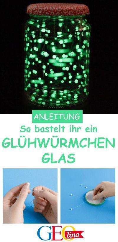 Experiment: Glühwürmchen im Glas