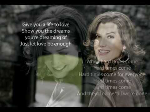 Amy Grant Hard Times Slideshow With Lyrics Amy Grant Songs