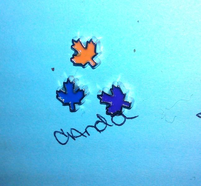 ♥Ƹ̵̡Ӝ̵̨̄Ʒ♥ (1) Canada Symbol Floating Charm for Origami Owl Living Memory Locket ♥Ƹ̵̡Ӝ̵̨̄Ʒ♥