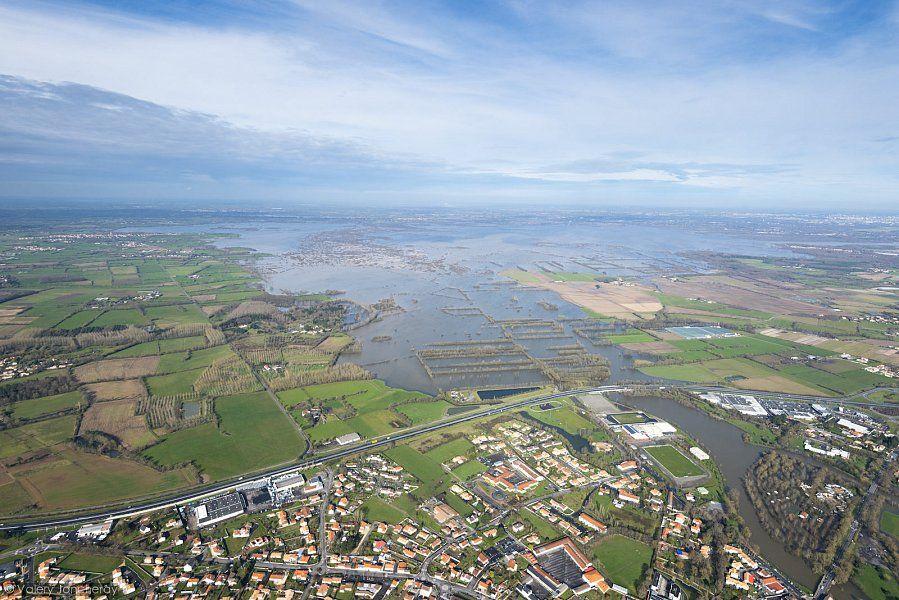 Saint-Philbert-de-Grand-Lieu #Inondations #LoireAtlantique