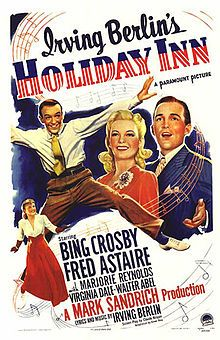 holiday inn irving berlin actually wrote the song white christmas for this show but it would later be used again for the somewhat similar movie white - Who Wrote The Song White Christmas