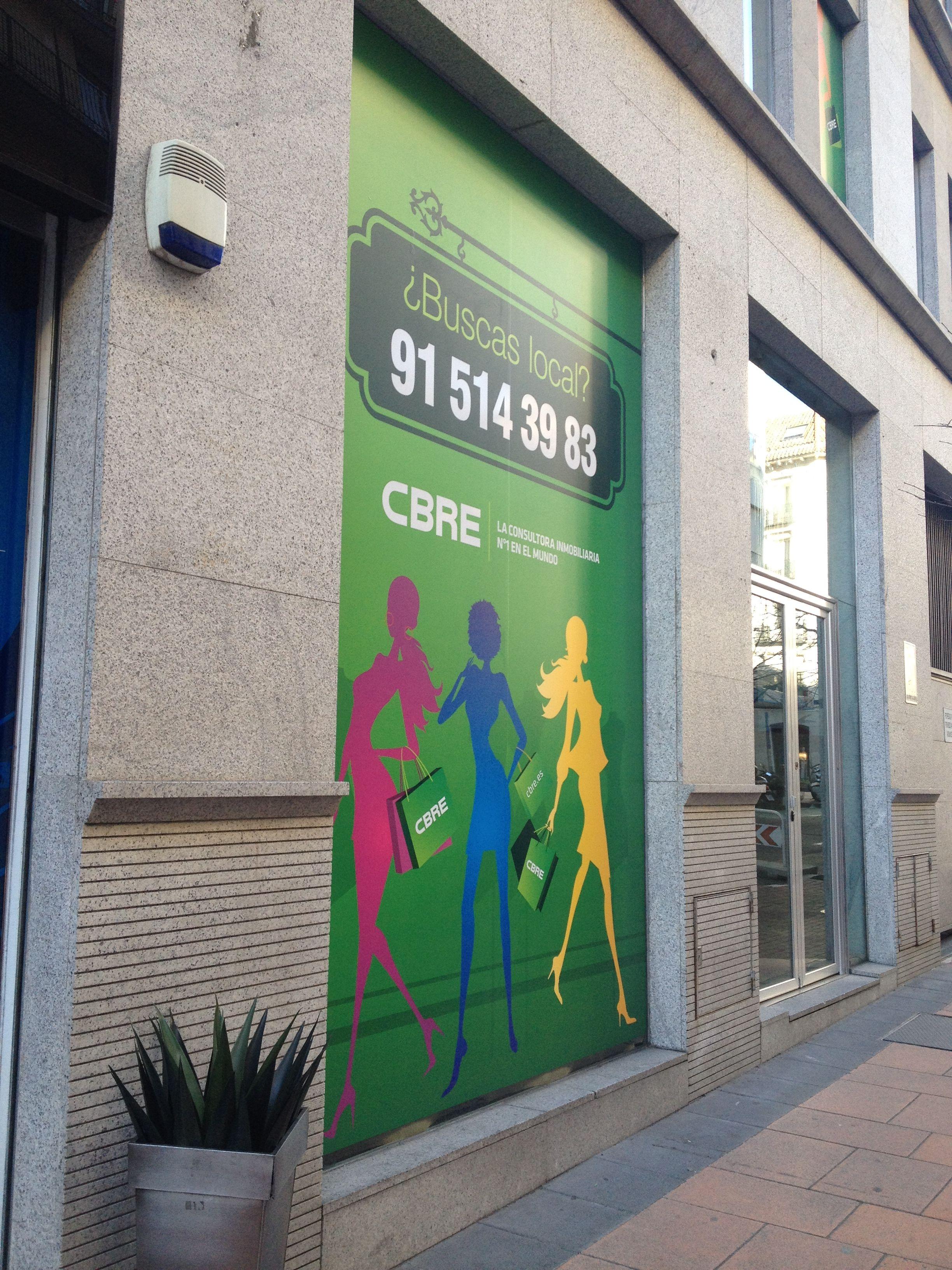 Siluetas en Claudio Coello, 55. Madrid