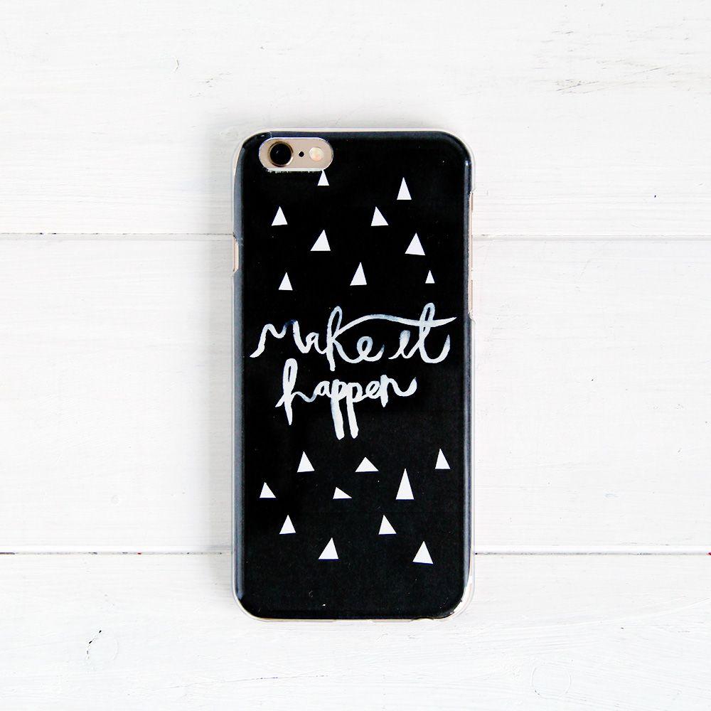 Сделай сам январь Мотивация в твоем телефоне!  |  Падение для DIY