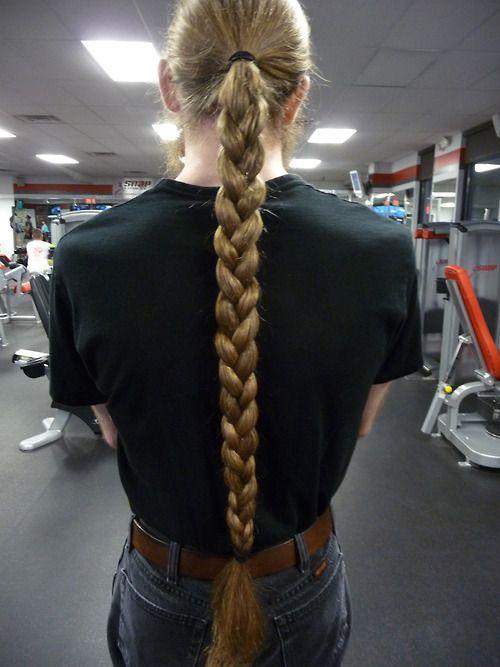 braids men with long hair