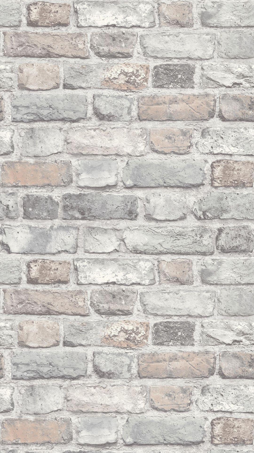 Battersea Brick Wall Effect Wallpaper Pastel Brick Wallpaper Bedroom Brick Wallpaper Wallpaper Bedroom