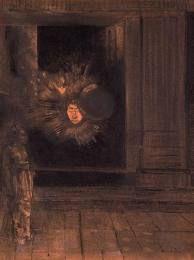 Odilon Redon, L'Apparition, 1883
