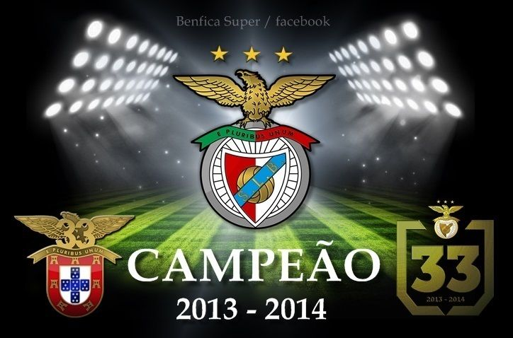 O Benfica é o Campeão