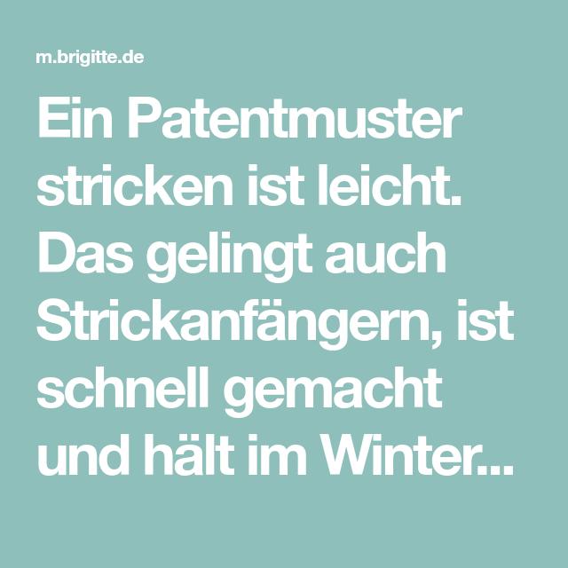 Photo of Patentmuster stricken: Anleitung für einen Loopschal