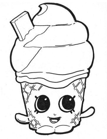 Imágenes y Dibujos de Shopkins para Imprimir y Colorear | Frutas ...
