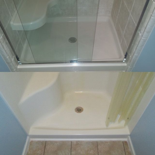 Before And After Shower #new #shower #renovation  Before And Entrancing Bathroom Remodeling Lancaster Pa Inspiration