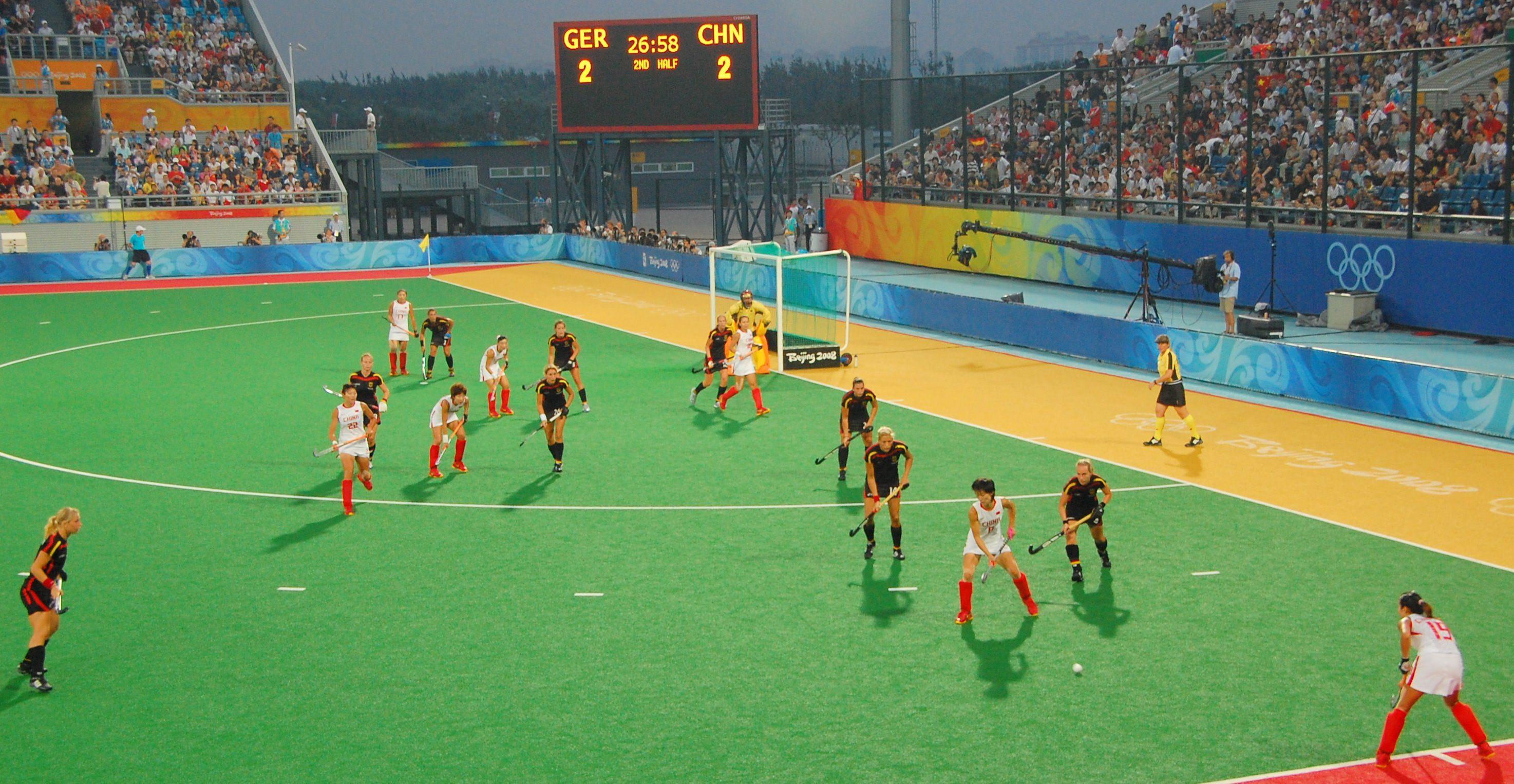 Germany Vs China In Women S Field Hockey At The Beijing Olympics Www Findaballer Com Field Hockey Beijing Olympics Womens Field Hockey
