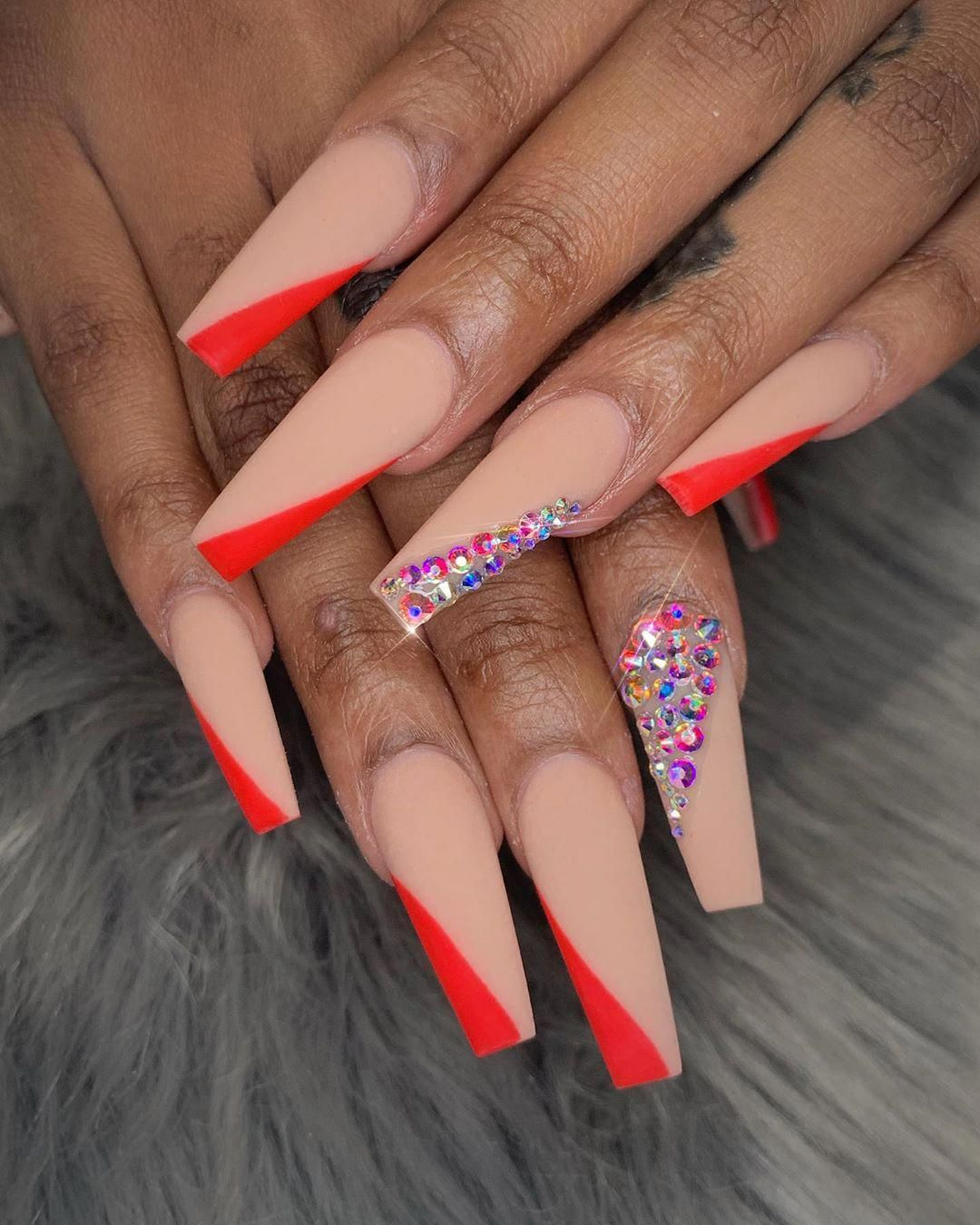 50 Cute Fall Nail Designs Ideas Colors You Should Try In 2020 Pink Acrylic Nails Cute Nails For Fall Acrylic Nail Designs
