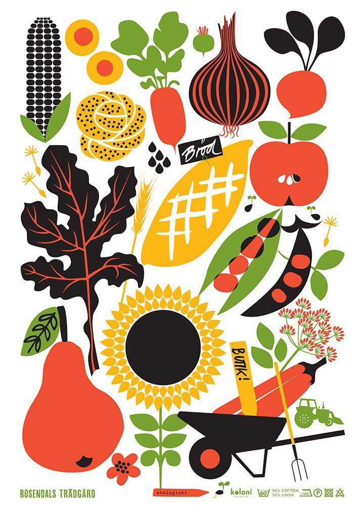Image result for garden illustrations pinterest