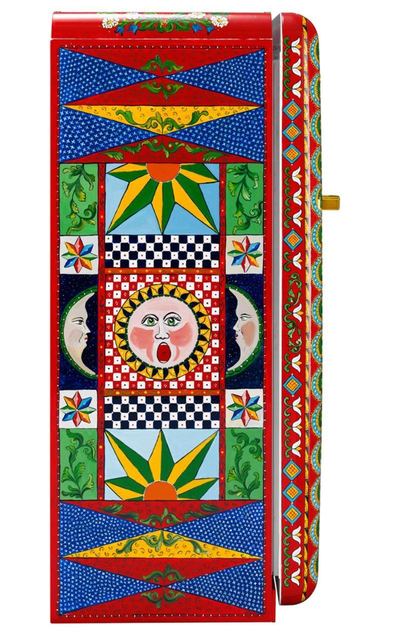 Dolce and Gabbana s Hand-Painted Smeg Refrigerators Are Now Available in  the U.S.   My Style   Pinterest   Smeg fridge, Refrigerator and Kitchen d596aa7bd4