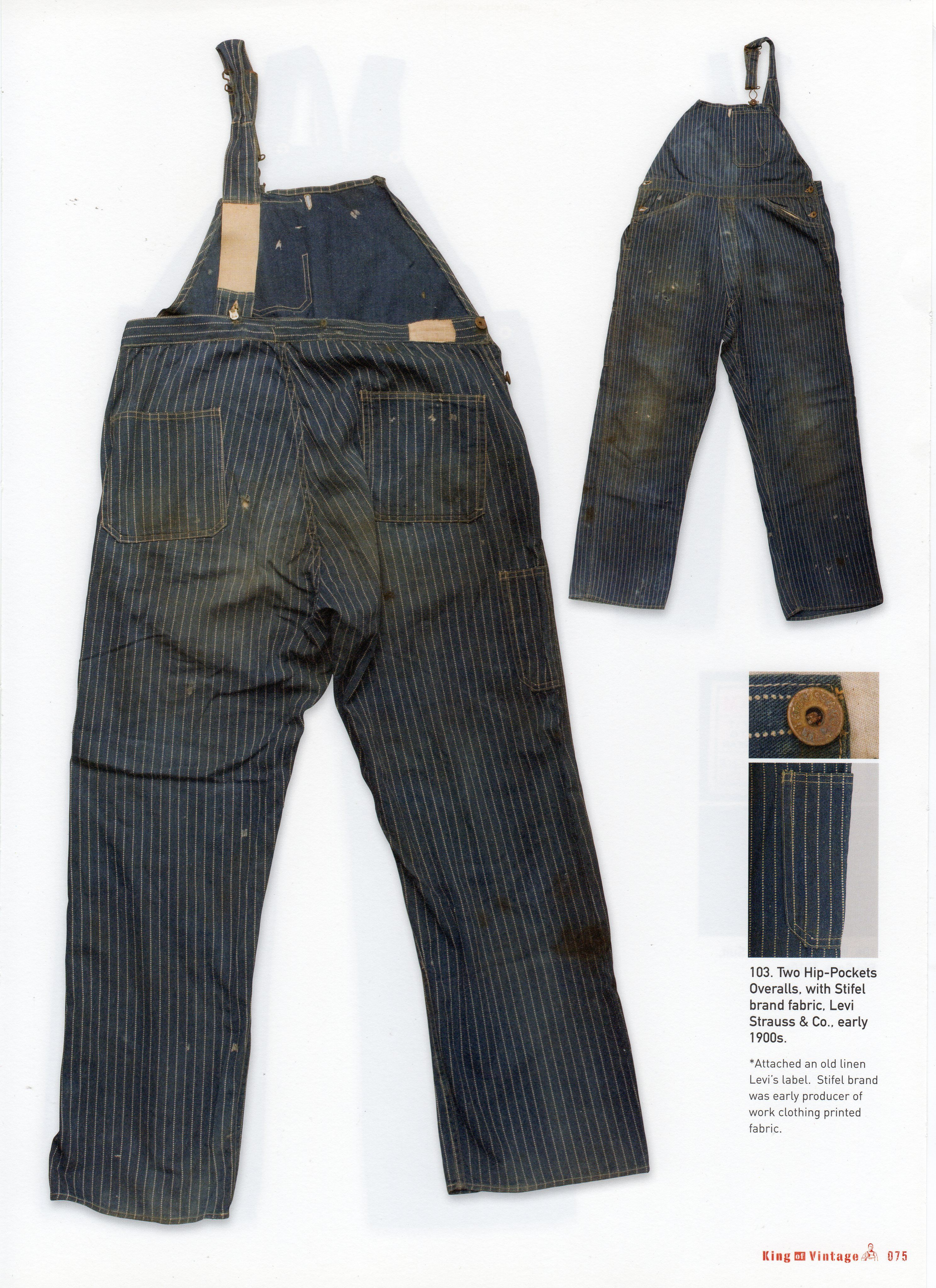 levi strauss bib overalls early 1900 39 s denim likes pinterest. Black Bedroom Furniture Sets. Home Design Ideas