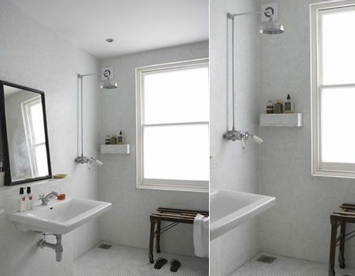 Open Shower Bathroom shower — better living through design | bathroom remodel