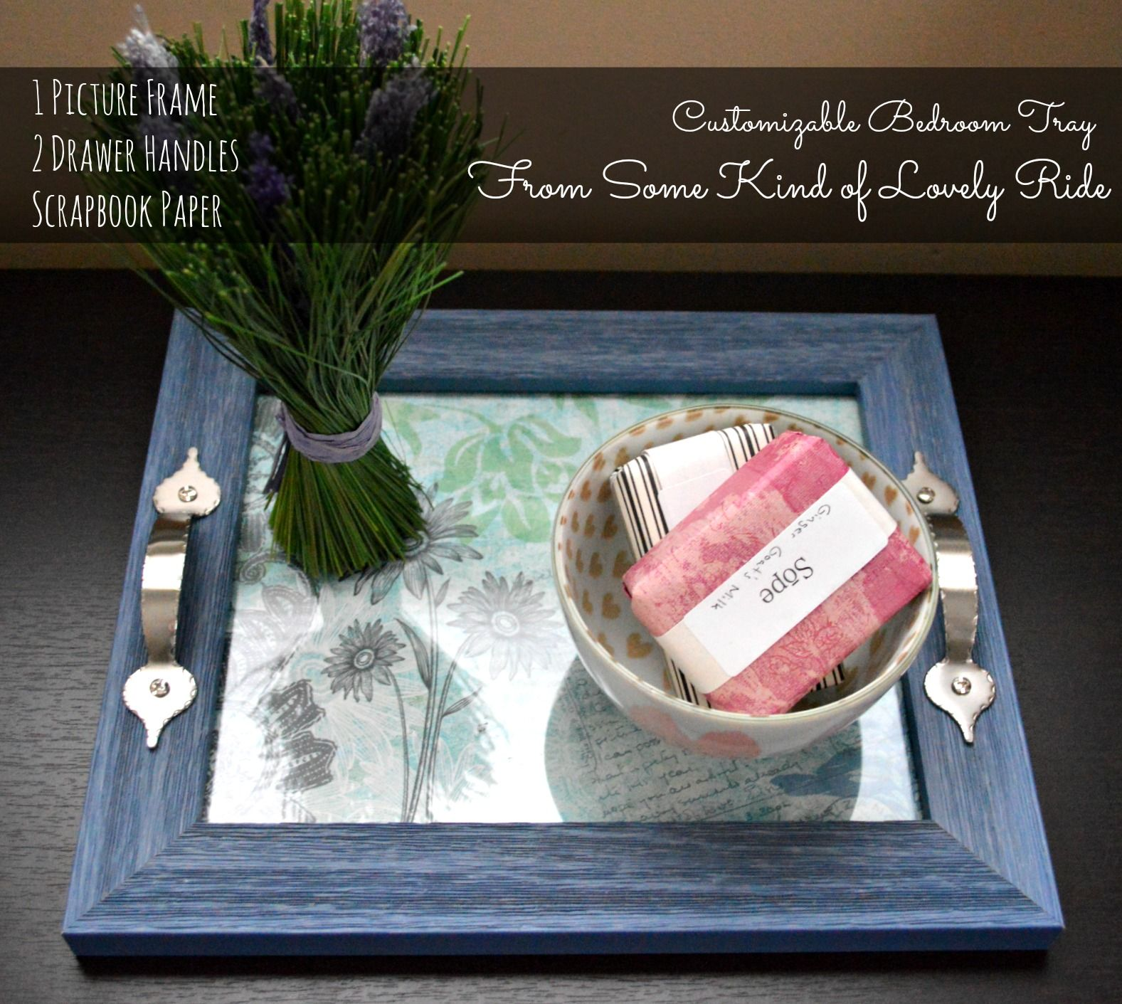 DIY Personalized Trays,For the plan to make click now; http://www ...