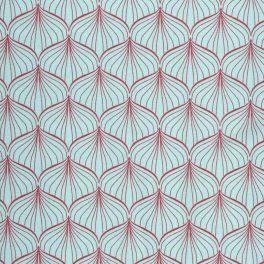toile cir e oilcloth alli aqua sky my future home tapestry design fabric wallpaper. Black Bedroom Furniture Sets. Home Design Ideas