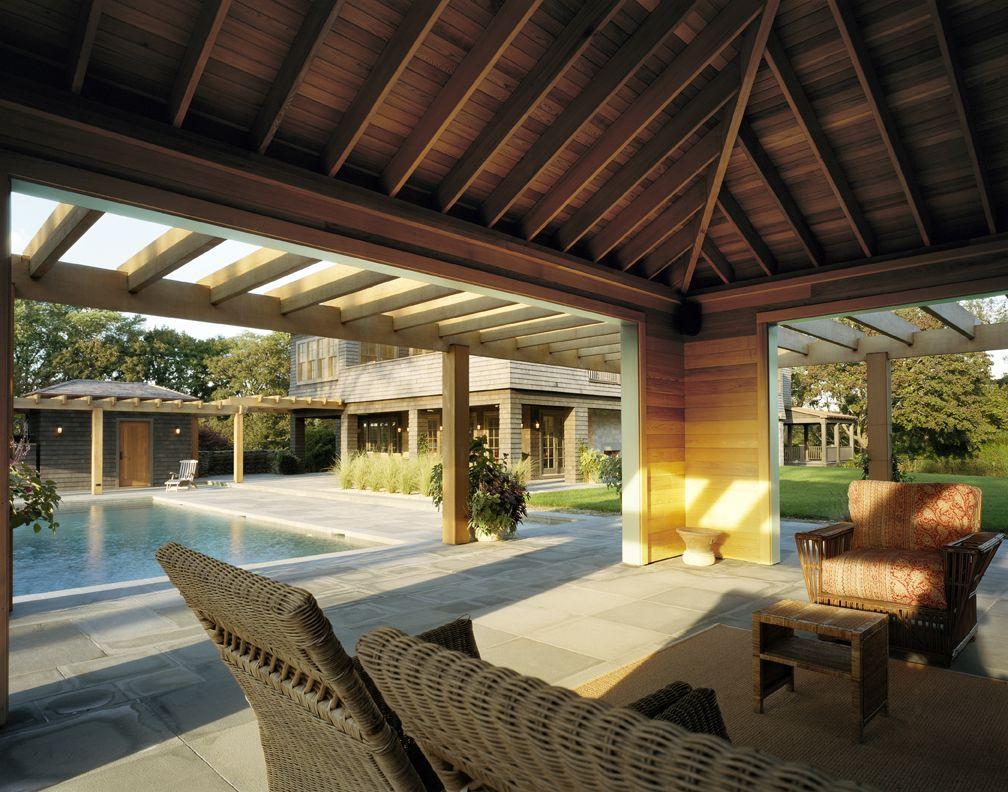 Lacina Heitler Architects #architecture #interior_design #East_Hampton #Hamptons #dream_home #home #house #design_inspiration #pool #pool_side #luxury