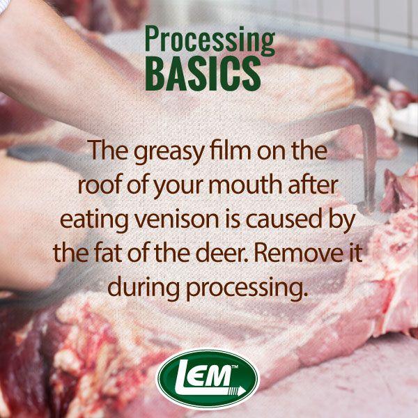 LEM Products | Deer Processing | Meat, Sausage making supplies, Deer