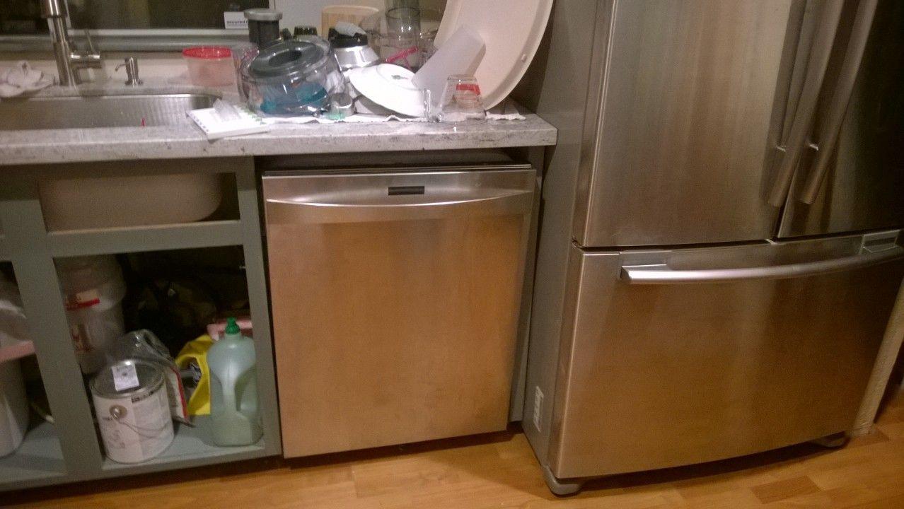 Image Result For Refrigerator Next To Dishwasher Kitchen Kitchen Dishwasher Kitchen Refrigerator