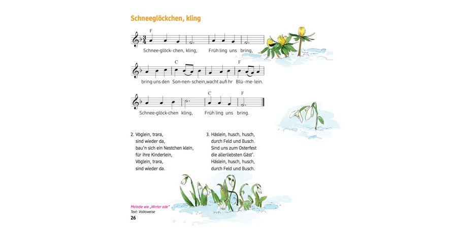 Schneeglöckchen Text