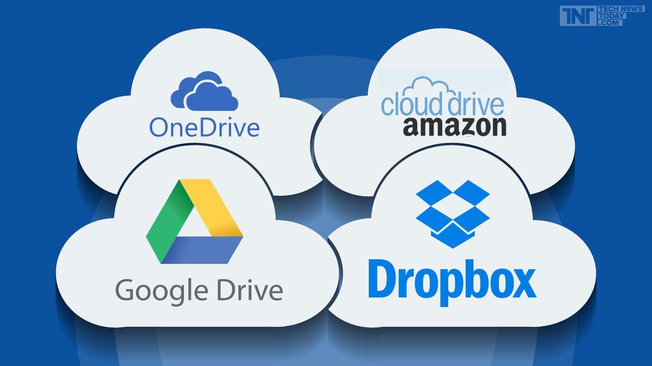 Google drive vs dropbox vs amazon cloud drive vs