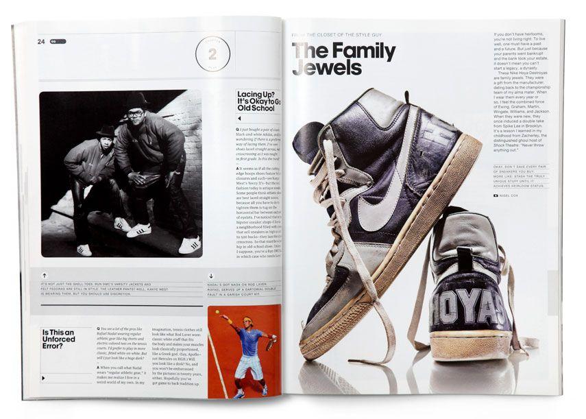 Gq Style Guy Magazine Layout Design Magazine Design Magazine Layout